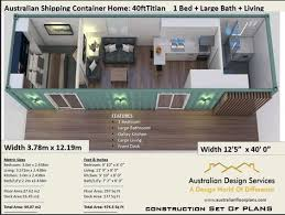 40 foot container home full