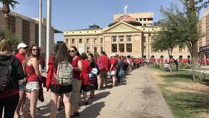 Arizona Budget Updates Follow The Negotiations On Teacher Raises