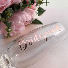 Personalised Name Vinyl Decal Wine Glass Cup Transfers Champagne Glass Wedding Hen Stag Gift Name Stickers Glass Not Included Stickers Aliexpress