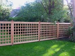 17 Lattice Fence Examples Awesome Ways To Use Lattice Fence Panels Privacy Fence Designs Lattice Fence