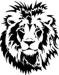 Large Car Bonnet Sticker Decal Vinyl Lion Head Tribal Tiger Side Wall Art Boat Ebay