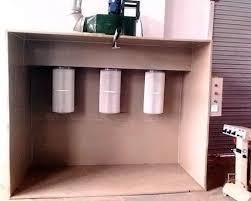 mini diy lable spray booth designs