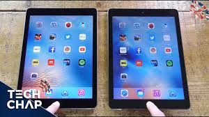 iPad Pro 9.7 vs iPad Air