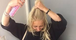 dry shoo could make you bald warn