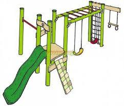 diy playground kit ninja 3 monkey bar