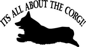 Pembroke Welsh Corgi Its All About The Corgi Decal Sticker Car Window Kennel