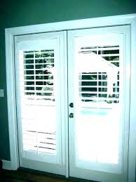 plantation shutters on doors