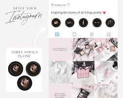 insram highlight icons for makeup