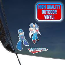 Mega Man Decal Sticker Legacy Pack Decalcomania