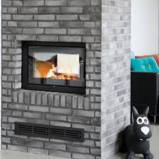 wood burning fireplace insert 2 1