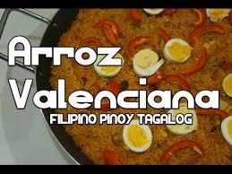 paano magluto arroz valenciana recipe