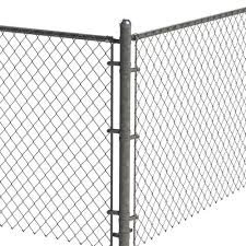 2 3 8 Galvanized Chain Link Fence Corner Post Kit At Menards