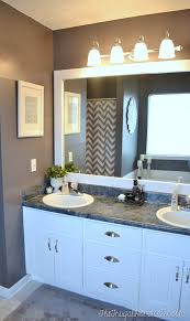 best ideas about frame bathroom mirrors