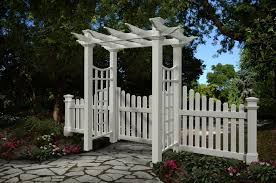 One Idea On How To Complete The Gate On My Dog Run Without Making My Little Friends Feel Like Convicts Garden Arbor With Gate Garden Arbor Wooden Garden Gate