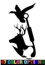 Oracal Vinyl Decal Truck Car Sticker Laptop Hunting Fishing Deer Duck Turkey