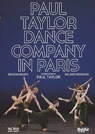Amazon.co.jp | Paul Taylor Dance Company in Paris [DVD] [Import ...