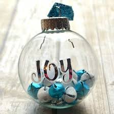 how to fill clear glass ornaments 25