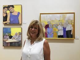 Art Exhibit About Holocaust, Family On Display At Mandell JCC - Hartford  Courant