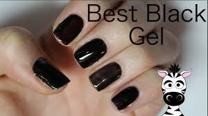 black gel polish which brand is best