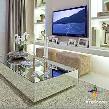 mirror coffee table dining room