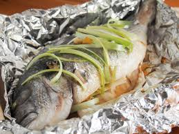 Chinese oven steamed fish - Caroline's ...