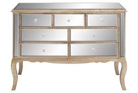 mirrored entry way chest i like gold