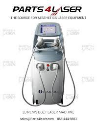 lumenis duet laser machine diode laser