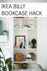 ikea billy bookcase built ins