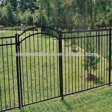 Wrought Iron Fence Gate Metal Pool Fence And Arched Gate Buy Metal Modern Gates Design And Fences Swimming Pool Fence Italian Style Wrought Iron Gates Product On Alibaba Com