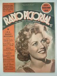 Radio Pictorial - Polly Ward | Radio, Cover, Vintage magazines