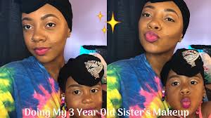 turning my baby sister