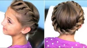تسريحات للشعر الطويل للاطفال بالخطوات الشعر هو تاج المراة عيون