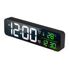 modern led mirror digital wall clocks