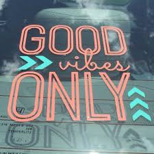 Good Vibes Only Decal Good Vibes Car Decal By Smtcustomcreations Yeti Decals Car Decals Vinyl Car Decals