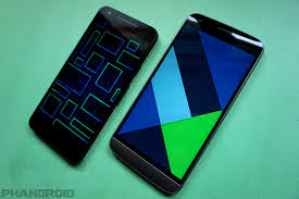 android phone look and feel