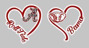 I Heart Alabama Decal E A Vinyl Designz