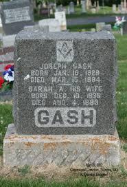 Sarah Adeline West Gash (1835-1893) - Find A Grave Memorial