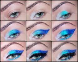 rainbow eye makeup tutorial images