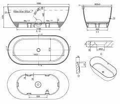 Byron Stone Bath Matt 1690mm - Total Home Design