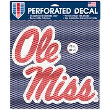 University Of Mississippi Car Accessories Hitch Covers Ole Miss Rebels Auto Decals Www Rebelshop Com