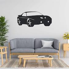 Amazon Com Car Wall Decal Car Wall Sticker Car Wall Art Multiple Sizes Wall Decals For Bedroom Wall Stickers For Kids Wall Decals For Kids Rooms Wall Decorations For Bedroom Teen Boy Game