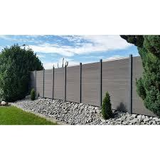 6 X 6 Composite Fence Section Panel Garden Fence Panels Backyard Fences Fence Design