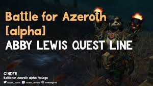 World of Warcraft - Battle for Azeroth [Alpha] - Abby Lewis ...