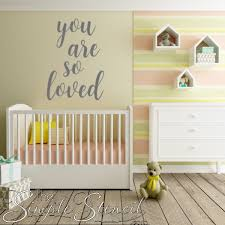 You Are So Loved Wall Sticker Removable Decal Romantic Wall Home Decor