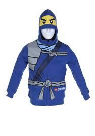 Boys Blue Ninjago Hoodie - LEGO Ninjago Costume Ideas