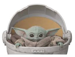 Star Wars Mandalorian The Child Passenger Series Window Decal