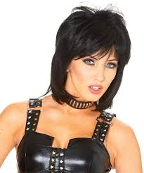 Amazon.com: Franco American Novelty Company Joan Jett Wig: Clothing