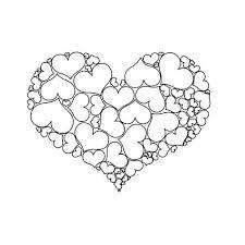 Een Hart Gemaakt Van Hartjes Valentijn Knutselen Peuters Thema