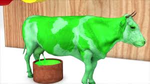 Con Bò Sữa-Học Màu Sắc Cùng Bò Sữa LK Nhạc Thiếu Nhi Sôi Động Vui ...