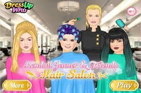 kendall hair salon make up games